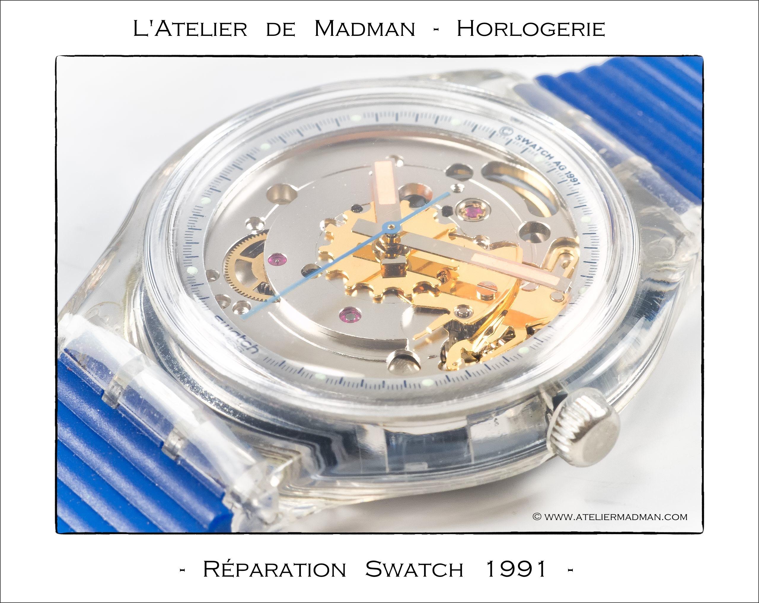 Horlogerie Réparation Swatch L Atelier De Madman