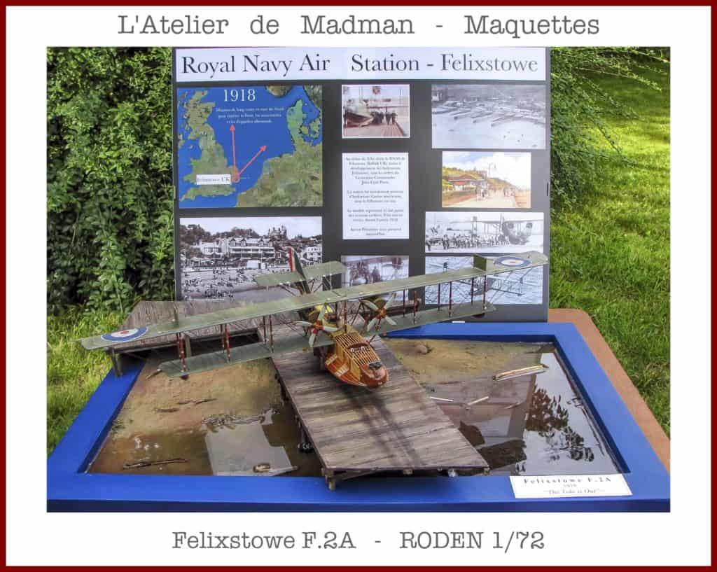 Felixstowe F.2A - RODEN 1/72