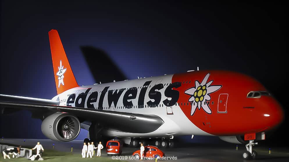 Airbus A380 - Edelweiss